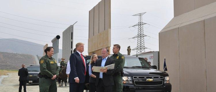 Corte de Apelaciones da importante luz verde al muro de Trump