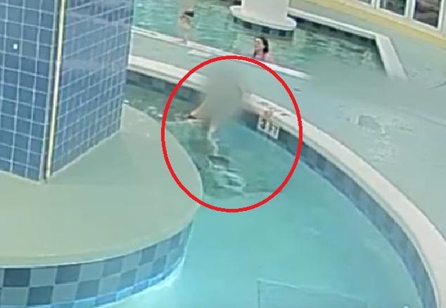 ahogamiento, piscina