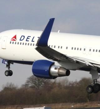 Avión Delta Airlines