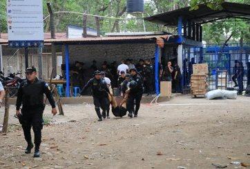 Trifulca en penal de Guate