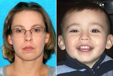 Madre del niño envuelto en concreto declara que su novio lo mató