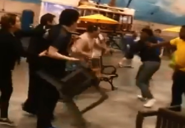 pelea campal