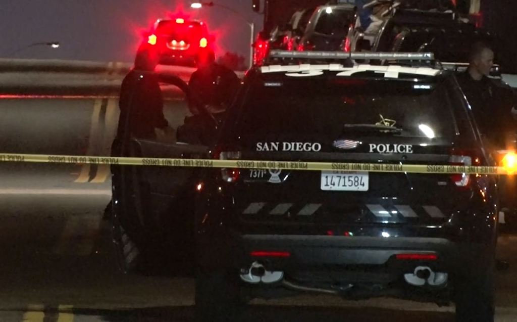 Policia de san Diego