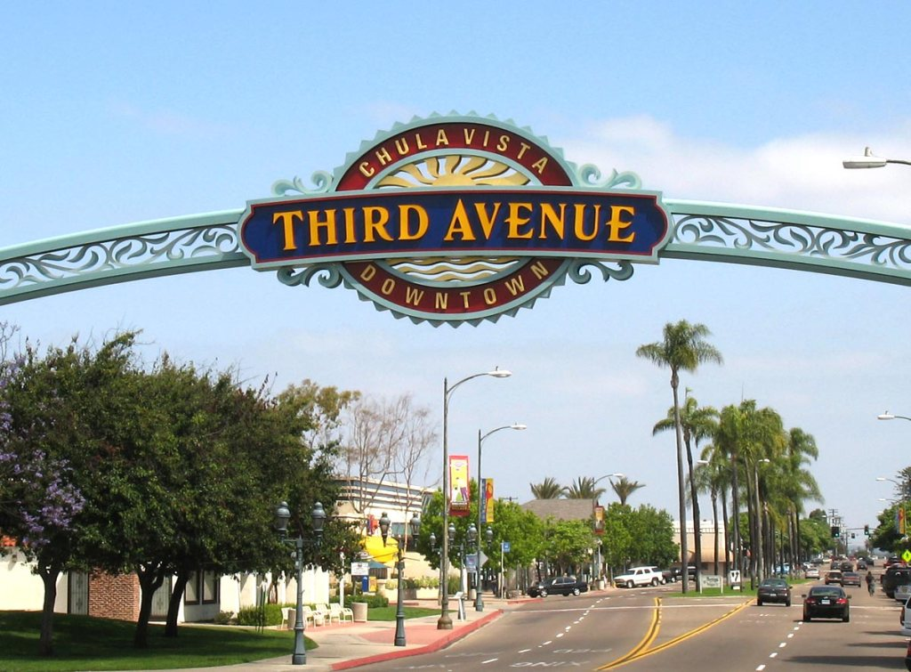 3rd avenue in chula vista