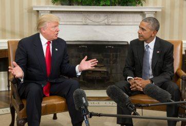 Asegura Obama que le propuso a Trump cambiarle nombre al Obamacare