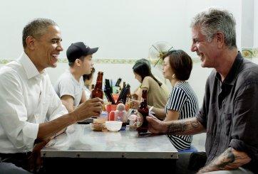 Anthony Bourdain and President Obama Dine in Hanoi