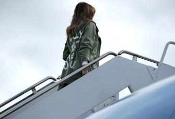 Melania Trump chaqueta
