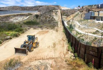 Remodelación de valla fronteriza