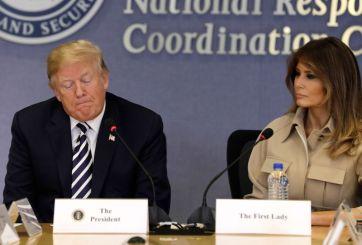 """""""Pasó por un momento difícil"""": Trump tras reaparición de Melania"""