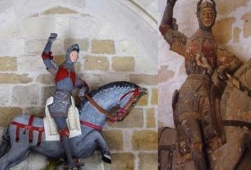 """Queda arruinada escultura española de hace 5 siglos al """"restaurarla"""""""
