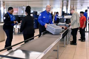Verificación de maletas de mano