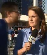 VIDEO: Acosan a reportera brasileña en Rusia