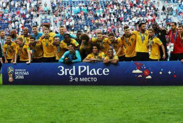 Bélgica se lleva el tercer sitio en el Mundial de Rusia