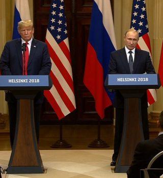 El insólito y vergonzoso espectáculo de Trump en Helsinki
