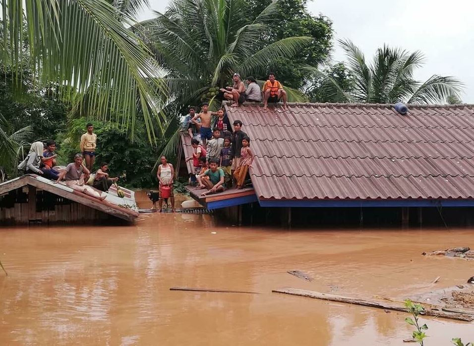 Inundaciones en Laos