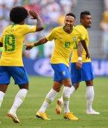 Neymar ha pasado más de 14 minutos acostado en las canchas Rusas