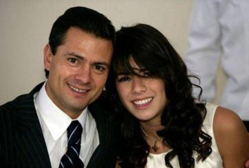 Paulina Peña y Enrique Peña