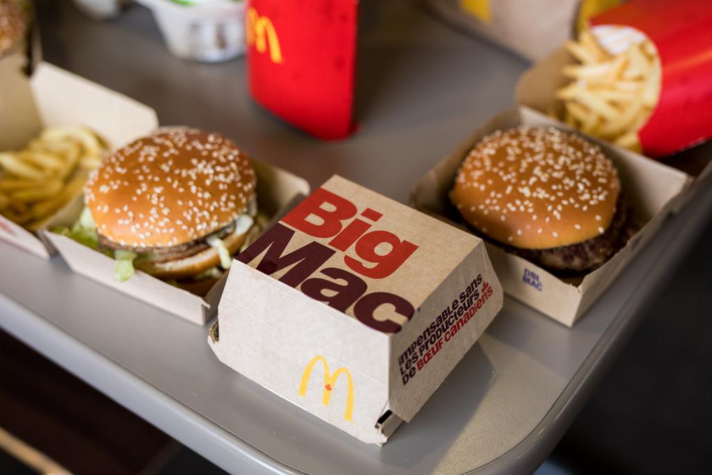 Esto se debe al cumpleaños 50 de la Big Mac.