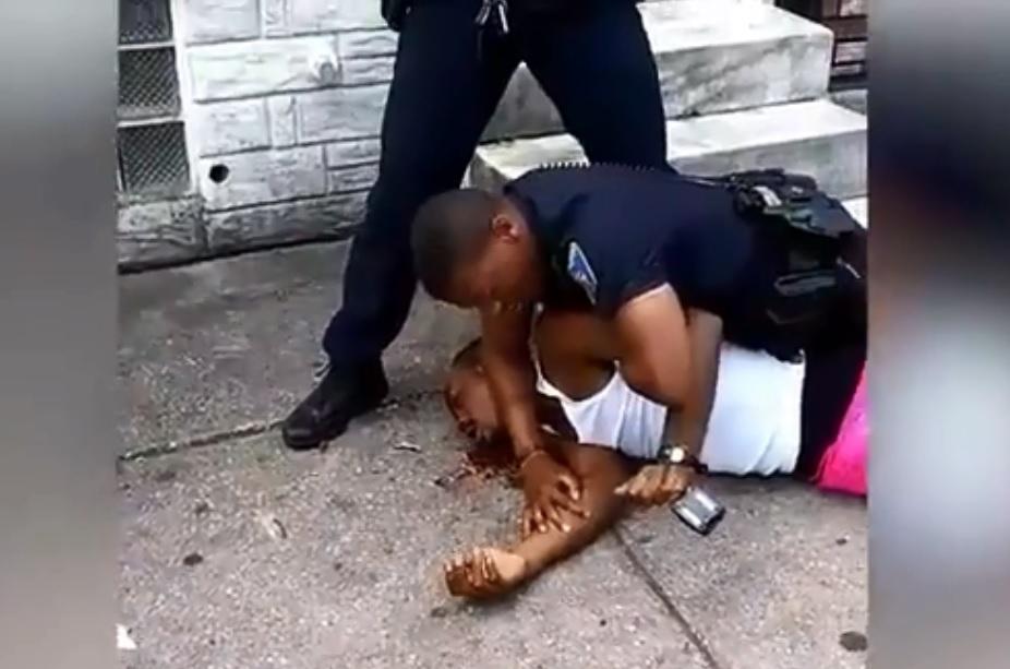 video viral abuso baltimore