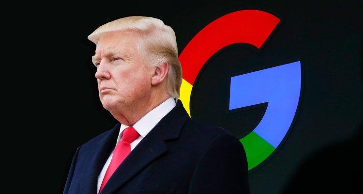trump contra google
