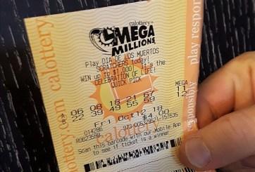 1 boleto de San Diego atinó 5 números del Mega Millions