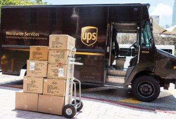 Arrestan a 4 empleados por traficar droga a través de UPS