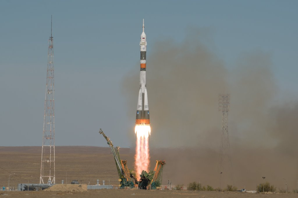 Se lanza el cohete Soyuz
