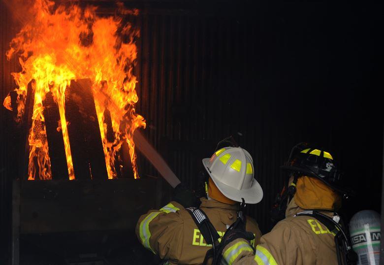 incendio en apartamento