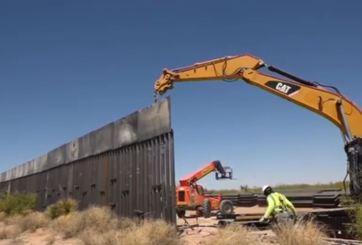 Juez restringe temporalmente construcción de muro en Mission