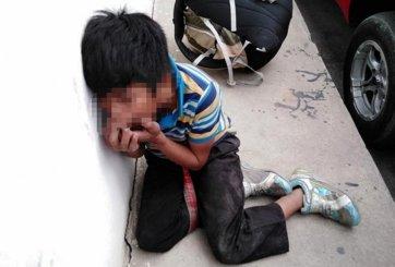 Niño de 11 años fue golpeado por «patrulleros» tras robar comida