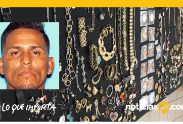 Ladrón robó $530,000 dólares en joyas en decenas de casas de Tampa