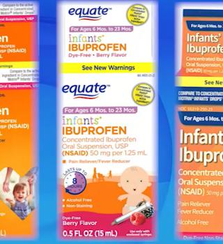 Amplían retiro de Ibuprofeno vendido por CVS, Family Dollar y Walmart