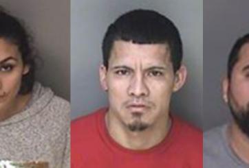 3 supuestos miembros de la MS-13 son arrestados con $200 mil en drogas
