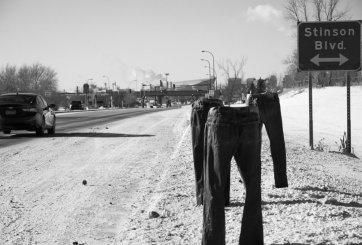 Viral: Hombre congela sus pantalones en Minnesota ante frío extremo