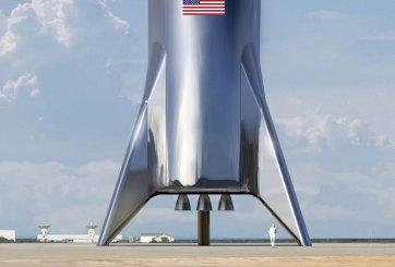 Elon Musk presenta el enorme cohete que nos llevaría a Marte