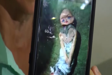 "VIDEO: Abuela ""exorcizó"" a niña de 6 años y su ritual se hizo viral"