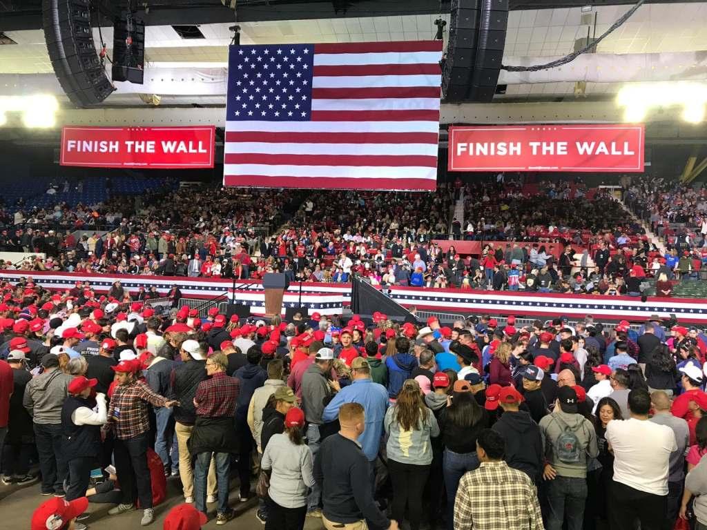 Trump en el Coliseo de El Paso