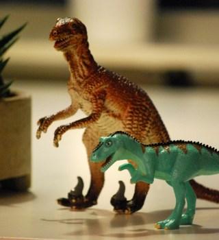 Los niños obsesionados con los dinosaurios son más inteligentes