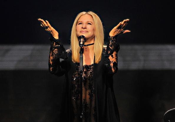 Barbra Streisand en el escenario