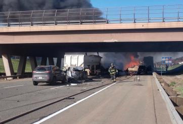 Accidente en I-70 en Colorado