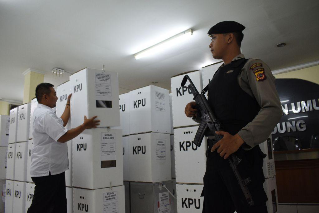 Votaciones en Indonesia