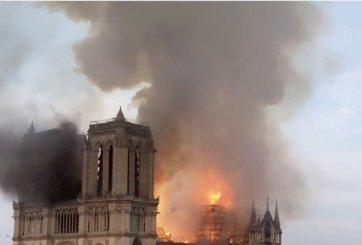 Teorías de conspiración inundan internet tras el incendio de Notre Dame