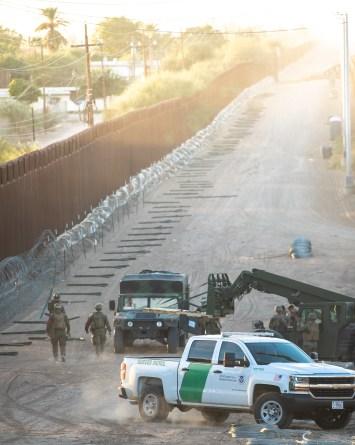 Gobierno de Trump acelera la construcción del muro fronterizo