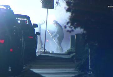 Varias casas son desalojadas por fuga de gas e incendios en San Diego