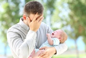 Bebé contrajo COVID-19 por los besos de su padre asintomático