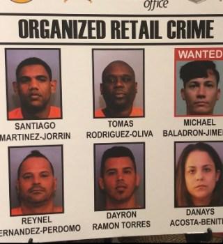 Banda robó $2 millones en productos que luego enviaba a Cuba