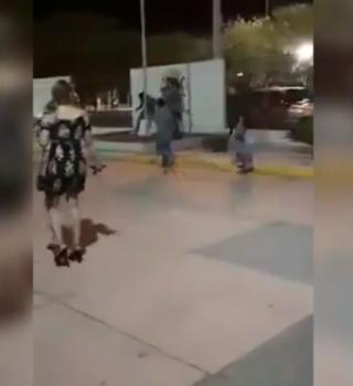 VIDEO: Pelea campal en boda: Familiares se enfrentan a golpes