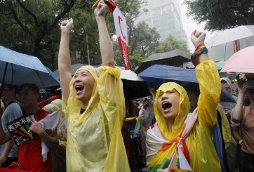 matrimonio gay en Taiwán