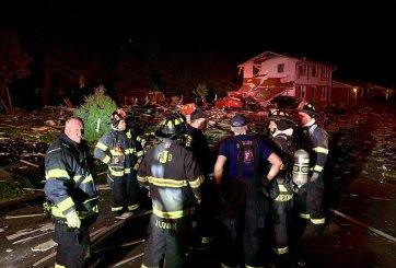 Una casa en Indiana explotó matando a un persona y dejando 2 heridos