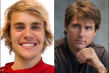 justin bieber vs tom cruise